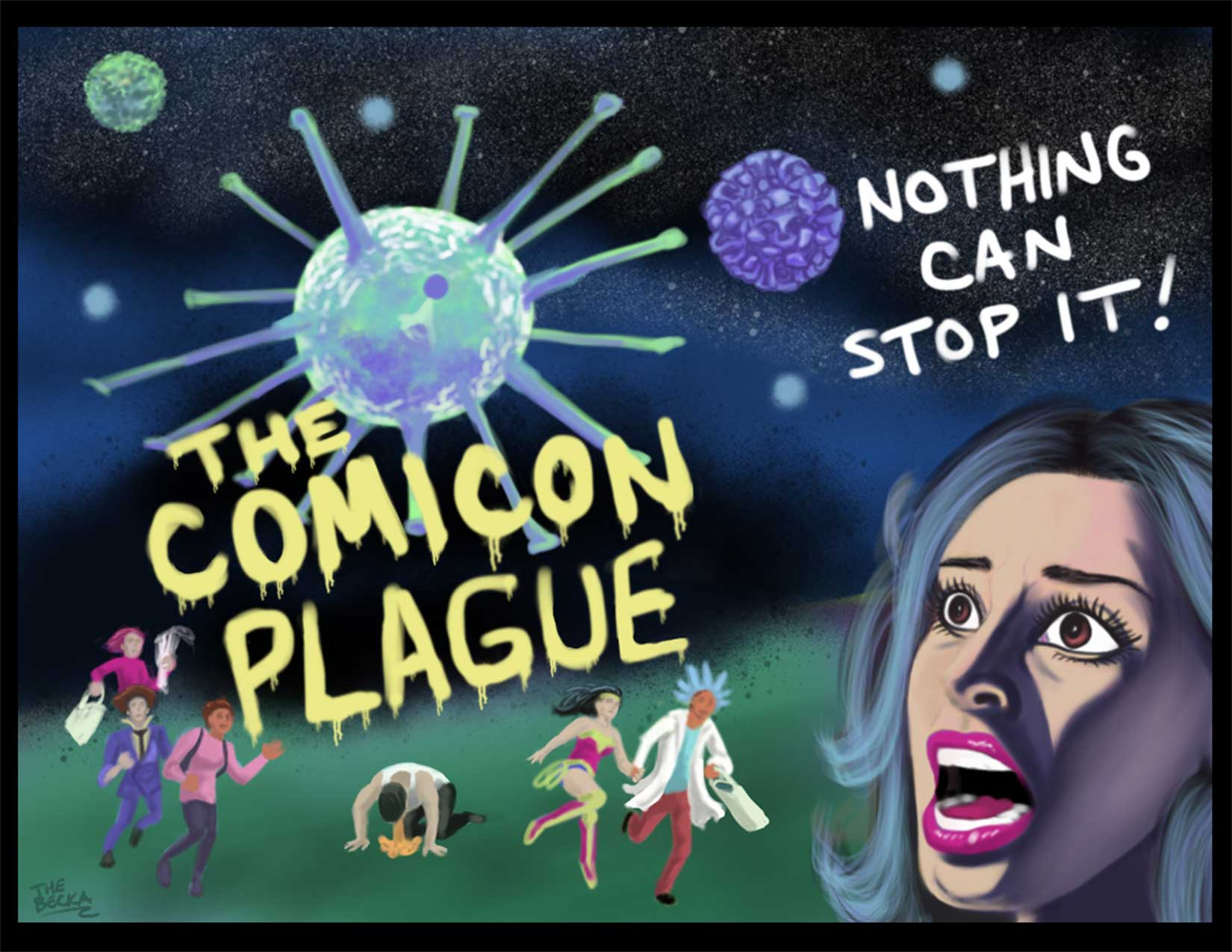 The Comicon Plague